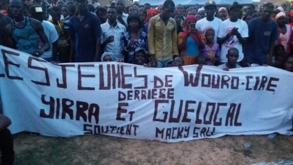 """La bravade de Guelongal Barro : """"Farba Ngom avait juré de ne plus faire de politique si quelqu'un ose entrer dans son fief; moi, Amadou Guelongal Barro j'ai tenu mon meeting chez lui à Ouro Siré..."""""""