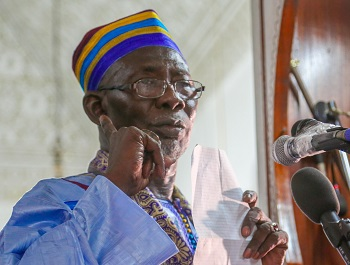 Sonko «sermonné» par l'imam de la Grande mosquée de Dakar