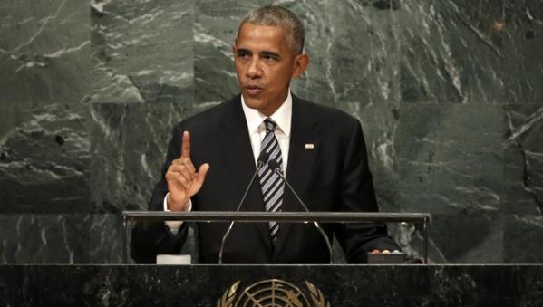 A la tribune de l'ONU, Barack Obama dénonce la montée du nationalisme
