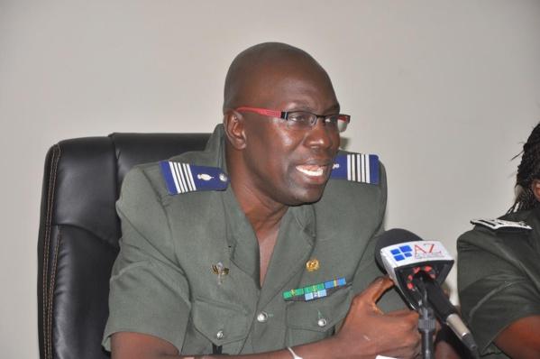 """Alors qu'une information impute la convocation d'Ahmed Aïdara à Thiong aux matons,le colonel Daouda Diop dément: """"C'est vous même qui m'apprenez qu'il a été convoqué! """""""