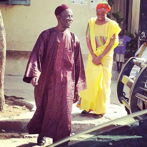 ( 02 Photos ) : Aby Ndour en compagnie de son papa