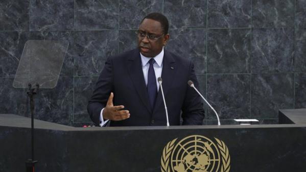 Discours du Président Macky SALL devant l'Assemblée Générale des Nations Unies : Les valeurs morales et éthiques portées au pinacle