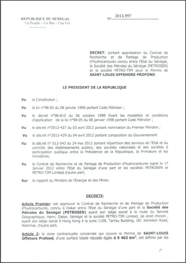 LE DÉCRET QUI ENFONCE MACKY ET ALIOU SALL