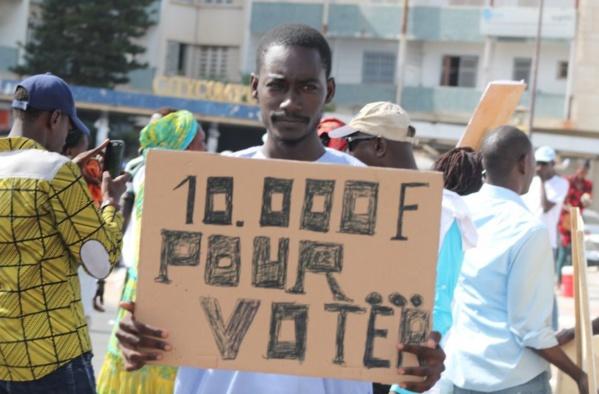 Communiqué: PRECISION Manko Wattu Sénégal a mobilisé au moins 15.000 personnes