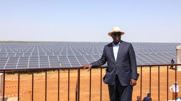 Centrale solaire photovoltaïque de Bokhol : Macky Sall trouve solution à 9000 ménages.