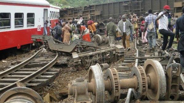 Accident de train au Cameroun : le bilan s'alourdit à plus de 60 morts