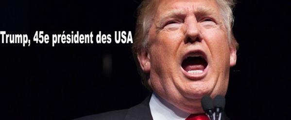 Urgent ! L'Amérique se Trump lourdement