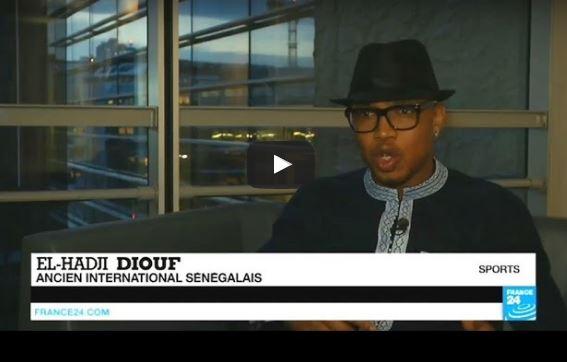 El-Hadji Diouf sur France 24 : «Je sais que je peux être très utile pour cette CAN 2017 à venir»