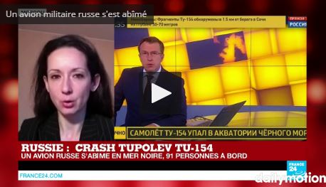Jour de deuil national — Crash en Russie