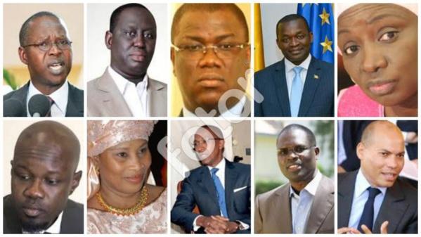 Les 10 personnalités politiques sénégalais qui ont marqué 2016