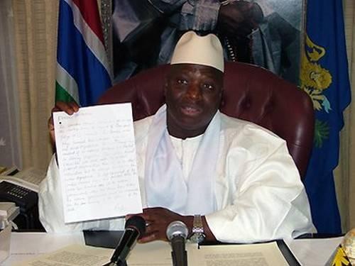 """Encore Jammeh et ses frasques- """"L'autocrate de Kanilaï"""" nomme un médiateur"""
