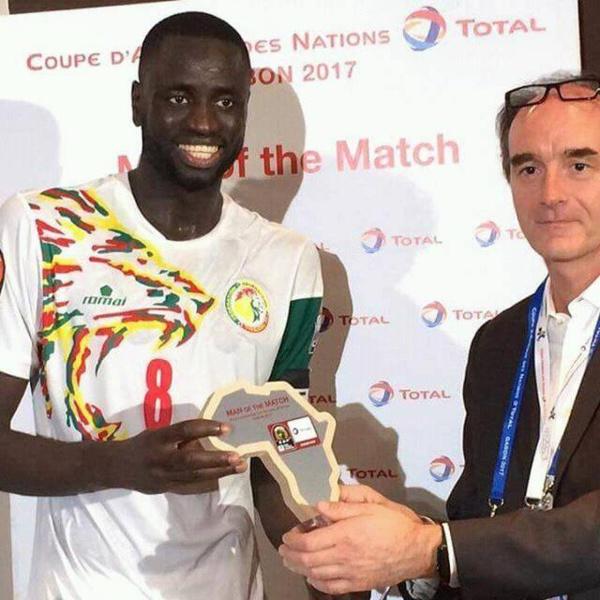 Sénégal/Zimbabwe : Cheikhou Kouyaté, homme du match