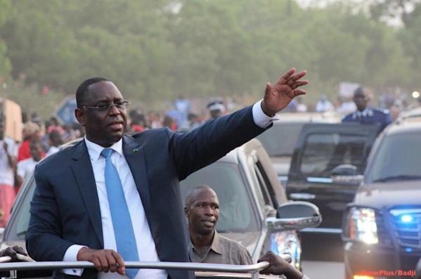 Tournée économique du Président Macky SALL dans les régions de Louga, Saint-Louis et Matam, du 05 au 09 mars 2017.