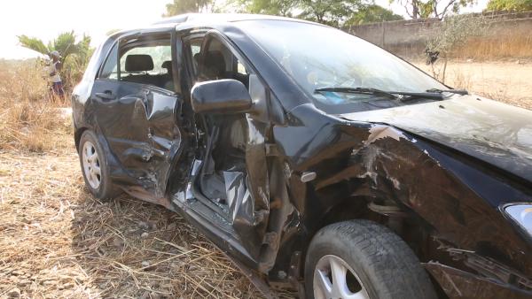 Thiès: Une grave collision entre le train SEFICS et un véhicule fait un mort et un blessé