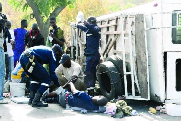 Accident meurtrier sur le retour de Médina Gounas: Drame national
