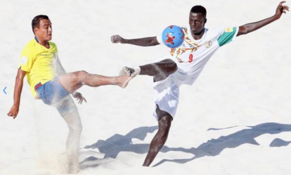 Beach Soccer: le Sénégal démarre fort avec un 9-0 devant l'Equateur