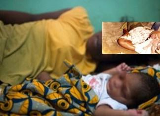 A Hann Mariste une femme accouche, tue son Bébé et le met dans un sachet en plastique