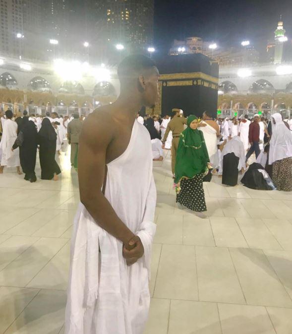 En pèlerinage à La Mecque, Pogba adresse ses voeux pour le ramadan