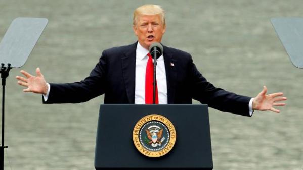 ETATS-UNIS : Donald Trump propose son aide pour apaiser les tensions dans le Golfe