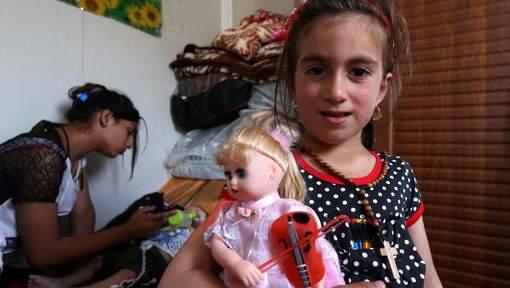 Trois ans après son enlèvement par l'EI, une fillette irakienne retrouve ses parents
