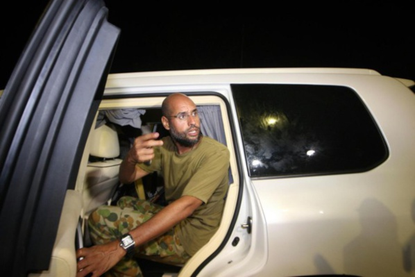 Le fils de Kadhafi, Seif al-Islam libéré