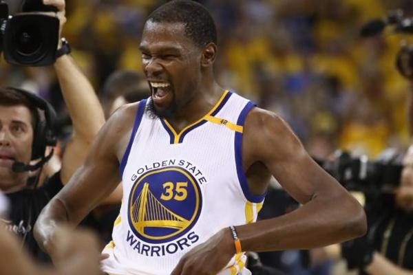 NBA : Kevin Durant désigné MVP des Finales 2017