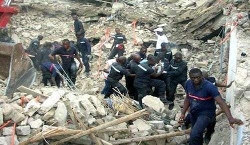Matam : 5 morts et 5 blessés dans l'effondrement d'un bâtiment