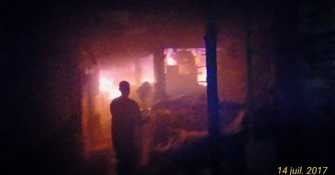 Incendie à Diourbel : Un sapeur-pompier aurait péri par électrocution