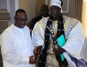 Le Grand Serigne de Dakar Pape Diagne vote Bby