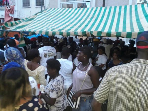 Les images de la visite de proximité du Dg des Impôts et Domaines à la MÉDINA