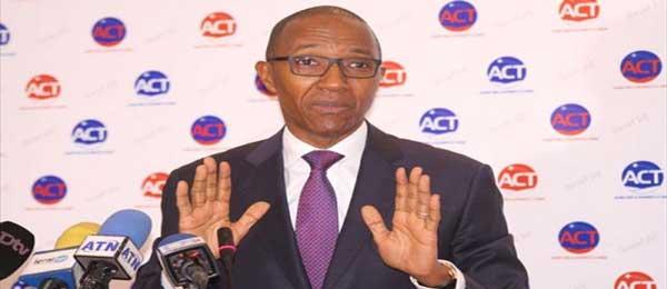 Abdoul Mbaye : «Ces résultats ne reflètent pas la volonté populaire »