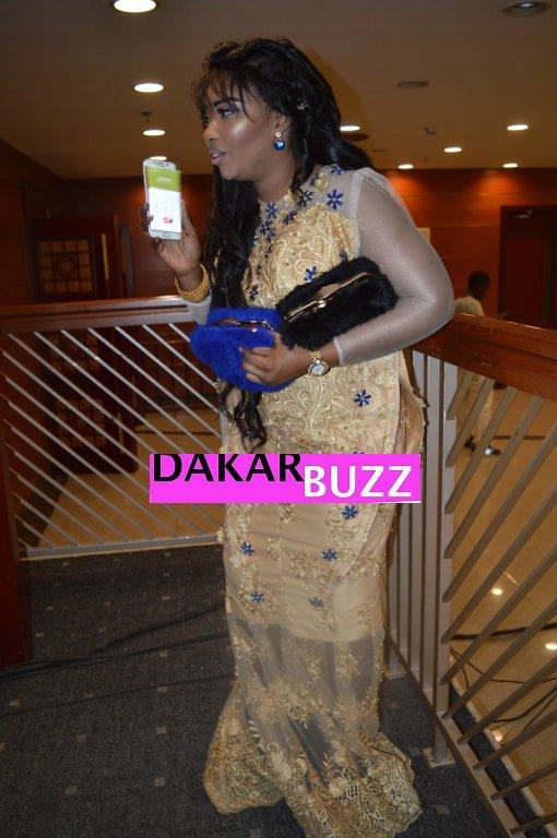 Les belles tenues Sénégalaises au Grand Théâtre à la soirée de Momo Dieng