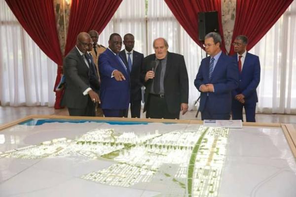 Cité des Affaires: Le projet présenté au Pr Macky Sall