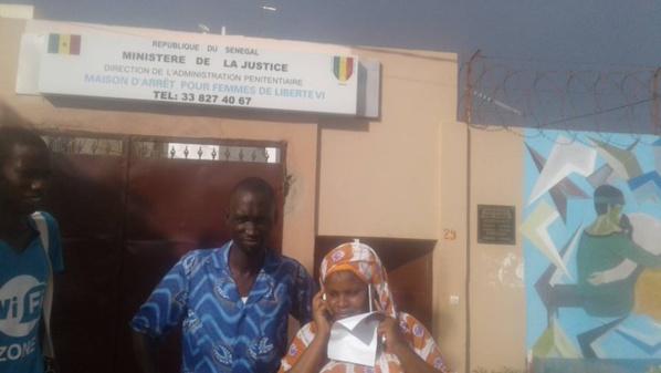 Urgent : Oulèye Mané a été libérée (Photos)
