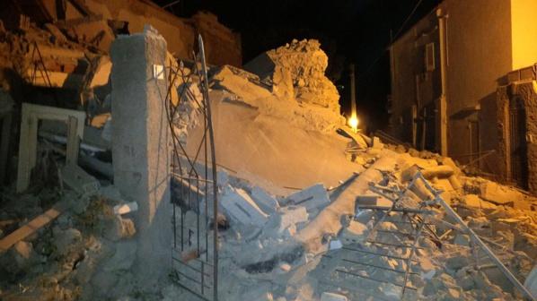 SÉISME SUR L'ÎLE ITALIENNE D'ISCHIA: AU MOINS UN MORT