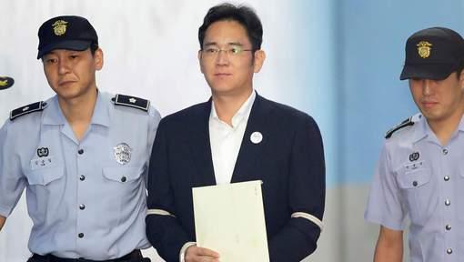 L'héritier de Samsung condamné à cinq ans de prison