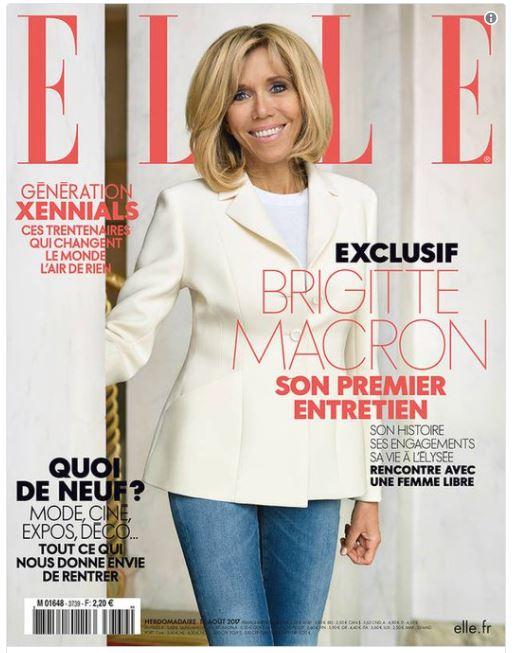 Elle bat un record avec la Une de Brigitte Macron