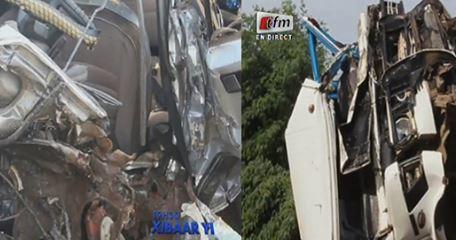 Grave accident– Richard Toll: Collision entre un mini car et un véhicule 7 places à Colonat : 4 morts et 16 blessés…Regardez