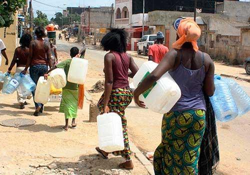 THIÈS : Pénurie d'eau dans plusieurs quartiers