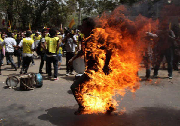 Un sénégalais s'immole à Nouackchott
