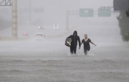 Harvey, quand le réchauffement climatique devient réalité