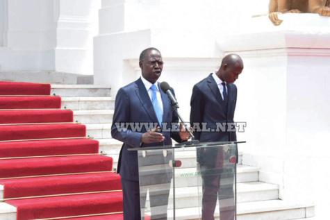 Photos : Mahammed Boun Abdallah Dionne remet la démission du gouvernement au président Macky Sall