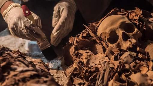 De nouvelles momies découvertes en Egypte