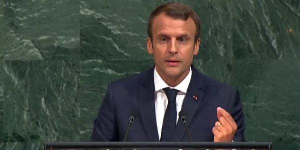 Emmanuel Macron à l'ONU: « Les opérations militaires doivent cesser, l'accès humanitaire doit être assuré… »