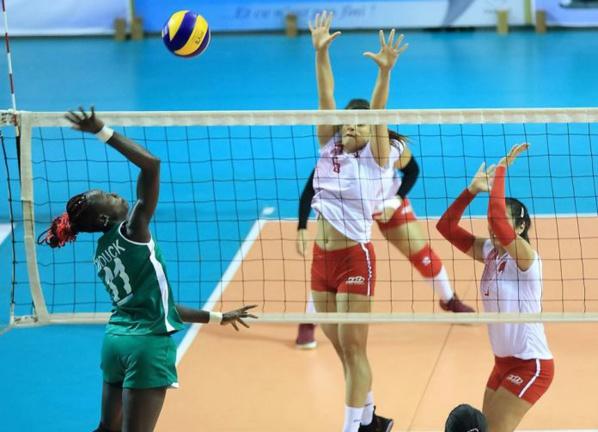 Can Volleyball 2017: Les Lionnes dominent la Tunisie et se qualifient en 1/2 finales!