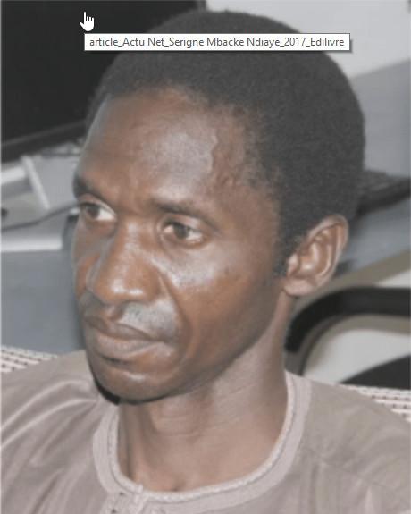 Serigne Mbackè Ndiaye descend l'oligarchie politico-maraboutique
