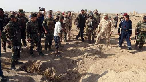 Pas moins de 400 corps découverts près d'un bastion repris à l'EI