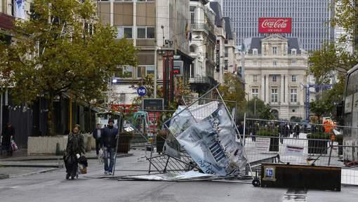 Voici la facture des émeutes à Bruxelles