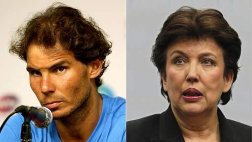 Roselyne Bachelot condamnée pour avoir accusé Nadal de dopage