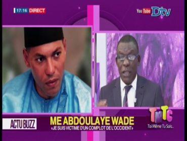 Vidéo – Farba Senghor: « Me Wade vient à la rescousse de Karim Wade »